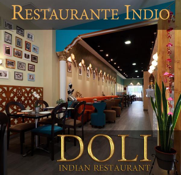 Restaurante Doli es gastronomía de la India en Madrid