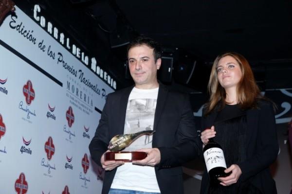 El joven chef David García recogió el premio y volvió a sus fogones.