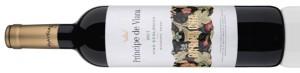 Primer vino ecológico de Príncipe de Viana