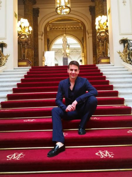 Escalinata principal de El Casino de Madrid. Foto: A.E.