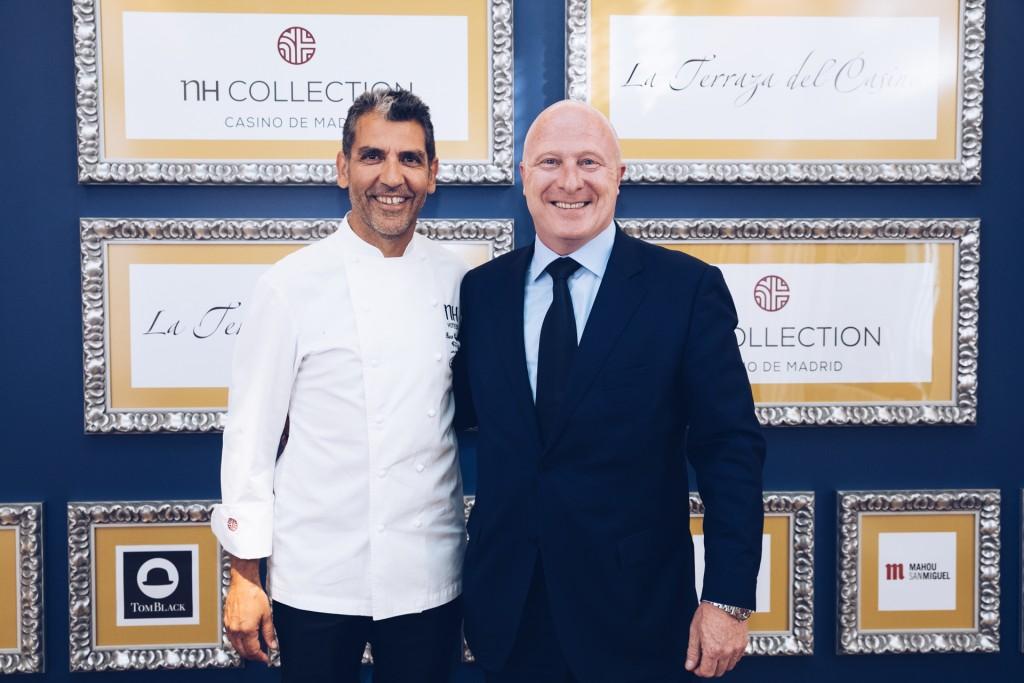Paco Roncero & Hugo Rovira Director General NH Hotel Group Sur Europa y EEUU