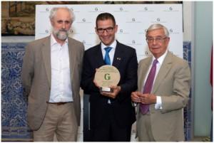 Abel Valverde recibe el Grand Prix de l'Art de la Salle