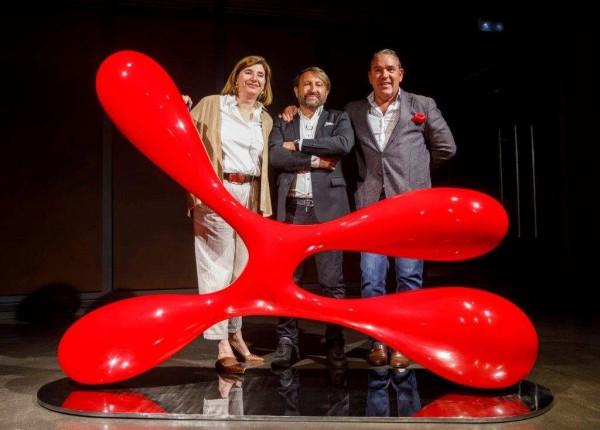 Carmen Martínez Zabala, José Manuel Robles y David Bardía