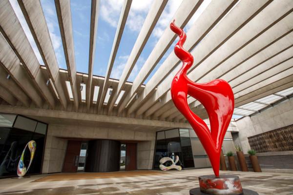 Esculturas exterior