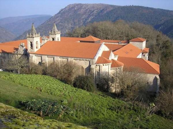 Monasterio de Santo Estevo de Rivas de Sil.