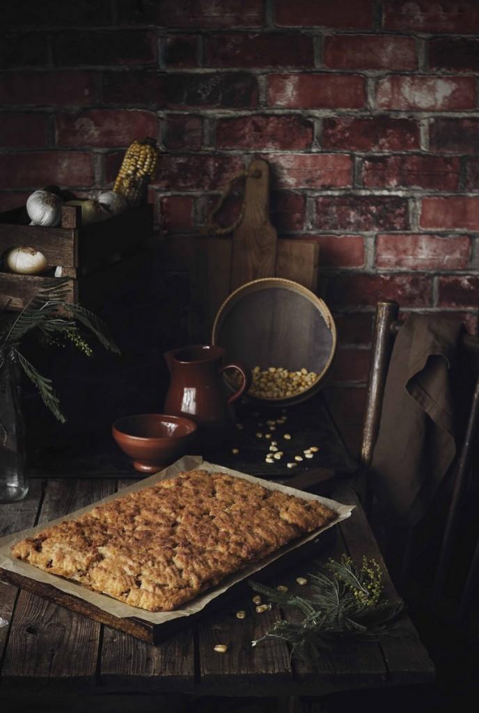 RECETAS PARA EL RECUERDO AZAFRAN POTE_ empanada de maiz de bacalao