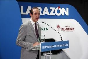 """Rafael Sandoval, premio Gastro&Cía al """"Sumiller del año"""""""