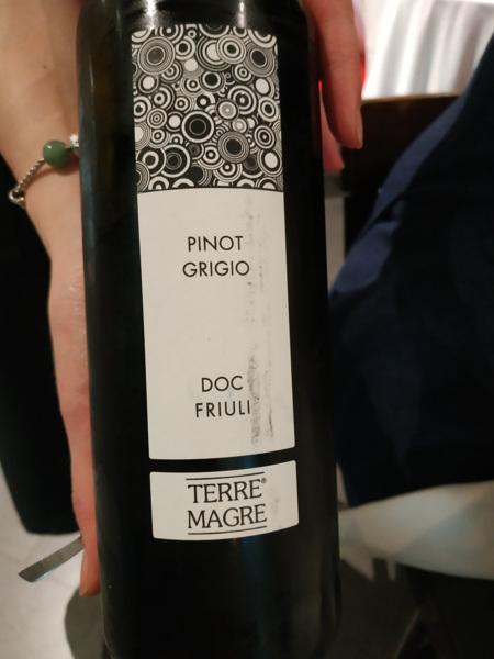 Estupendo vino italiano.