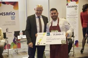 Manu Urbano, chef de La Malaje, ganador del Desafío WOOE