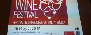 El vino y la música se unen en Miranda Wine Festival