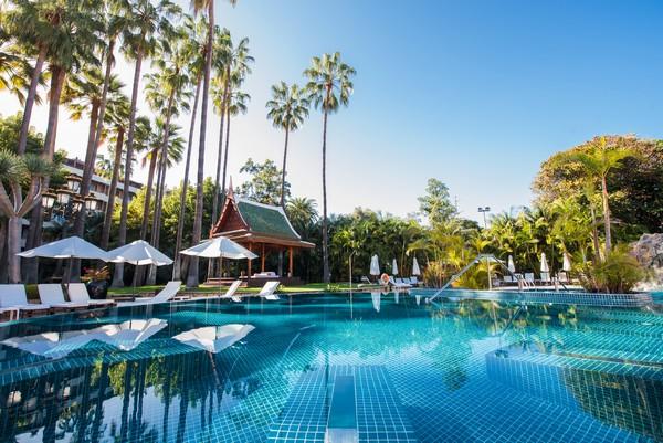 Terraza del Hotel Botánico