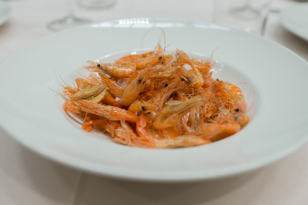 camarones plancha