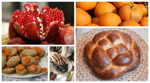 Simbolismo en torno a los platos judíos en el Rosh Hashaná