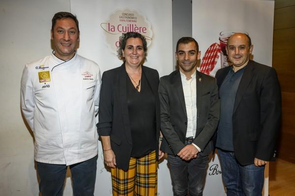 """Presentacion del concurso frances para chefs femeninas """"La Cuillère d´Or"""""""