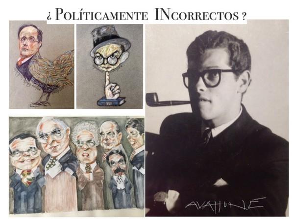 """Exposición de Carlos Avallone: """"¿Políticamente incorrectos?"""""""