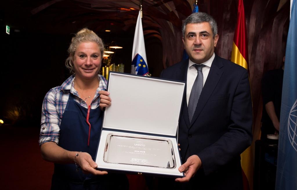 Ana Roš, Embajadora de Turismo Gastronómico de la O.M.T.