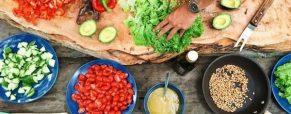 7 recetas internacionales de ensaladas con vitamina D