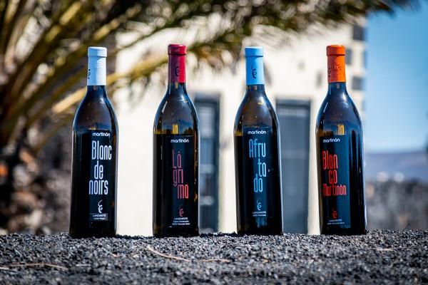 Primer vino Blanc de Noirs de Lanzarote